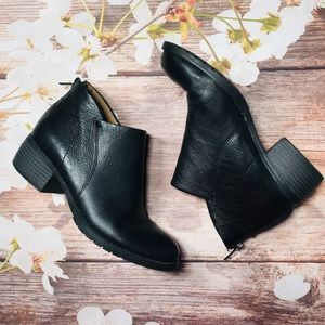 Montana Artisan Crafted Leather Ankle Booties